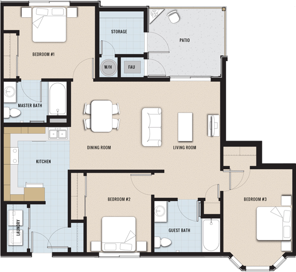 Cheap Apartments In California: Salado Orchard Apartments